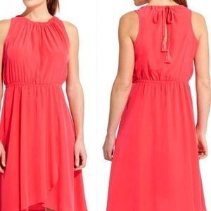 Pink Athleta dress tie back